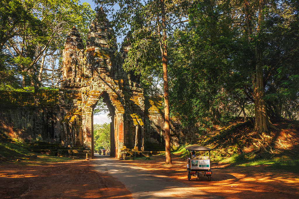 The Angkor Wat. City in the jungle 16