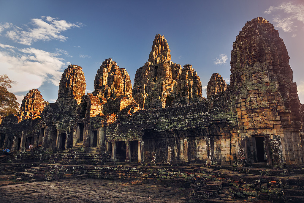 The Angkor Wat. City in the jungle 20