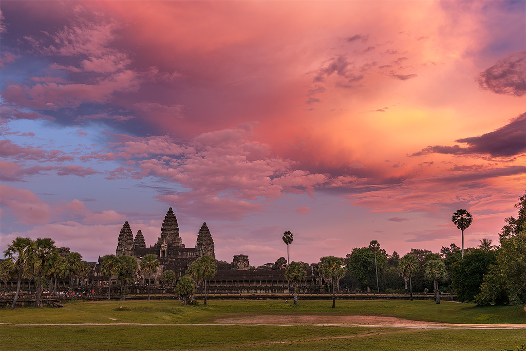 The Angkor Wat. City in the jungle 23