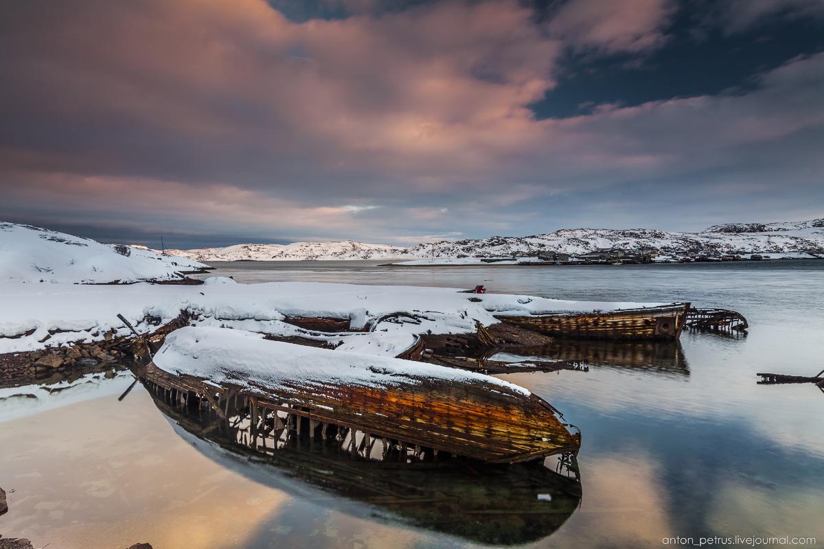 The Ghost ships. Teriberka 09