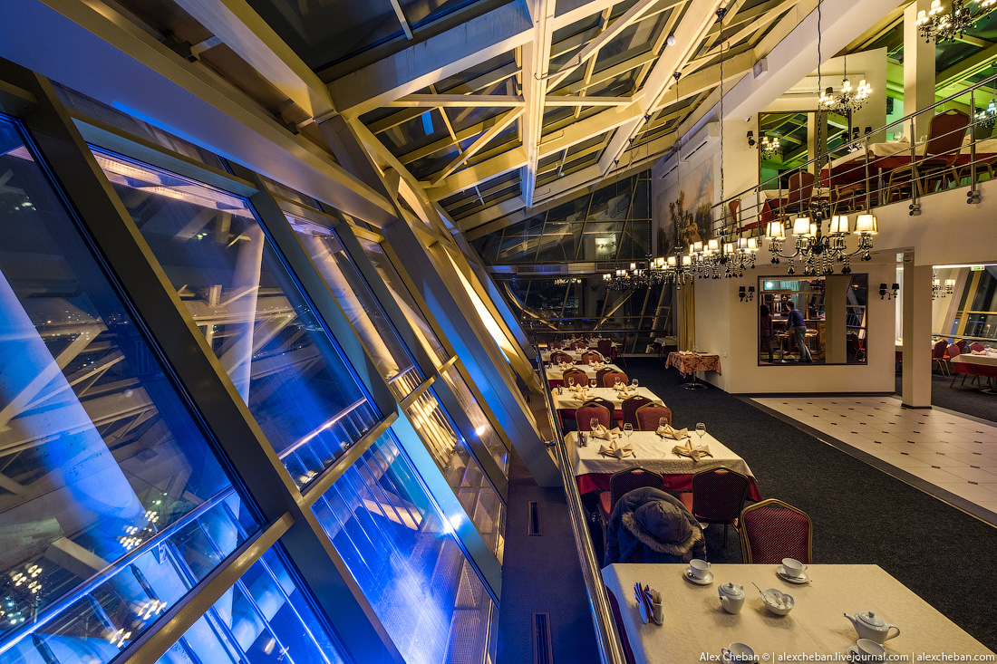 The best panoramic restaurants in Russia 13