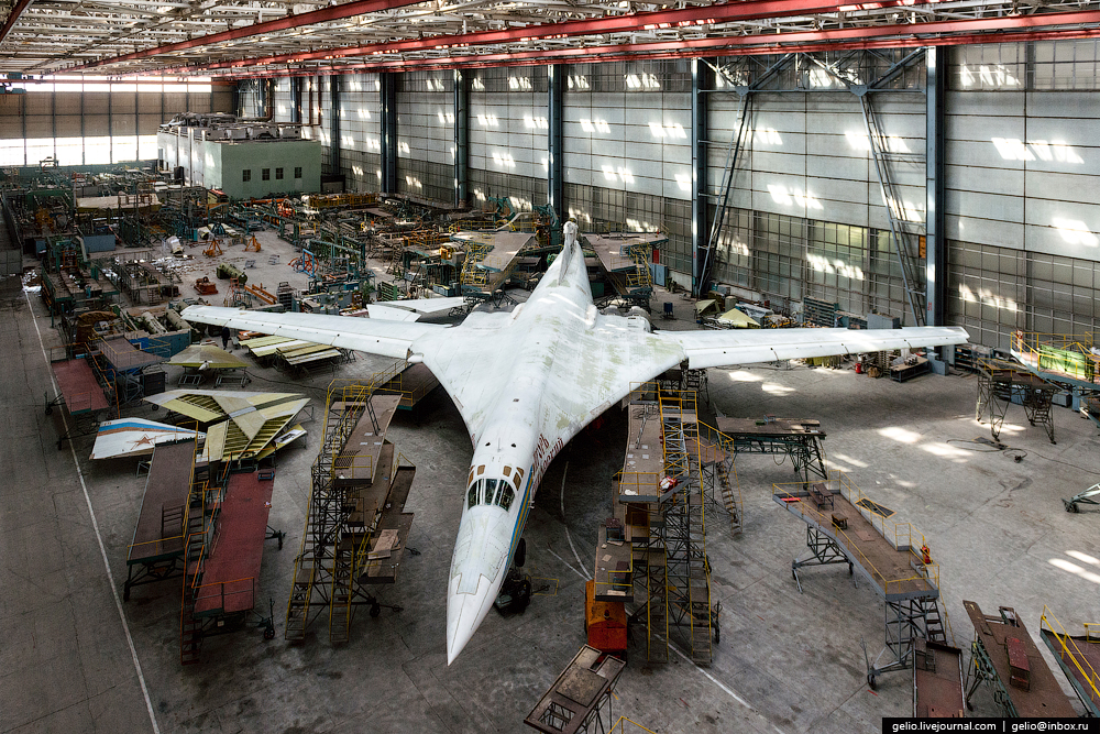 The production of aircraft Tu-160, Tu-22M3 and Tu-214_11