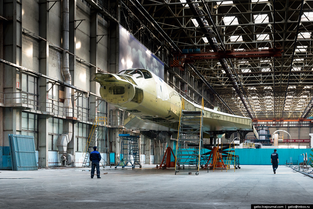 The production of aircraft Tu-160, Tu-22M3 and Tu-214_13