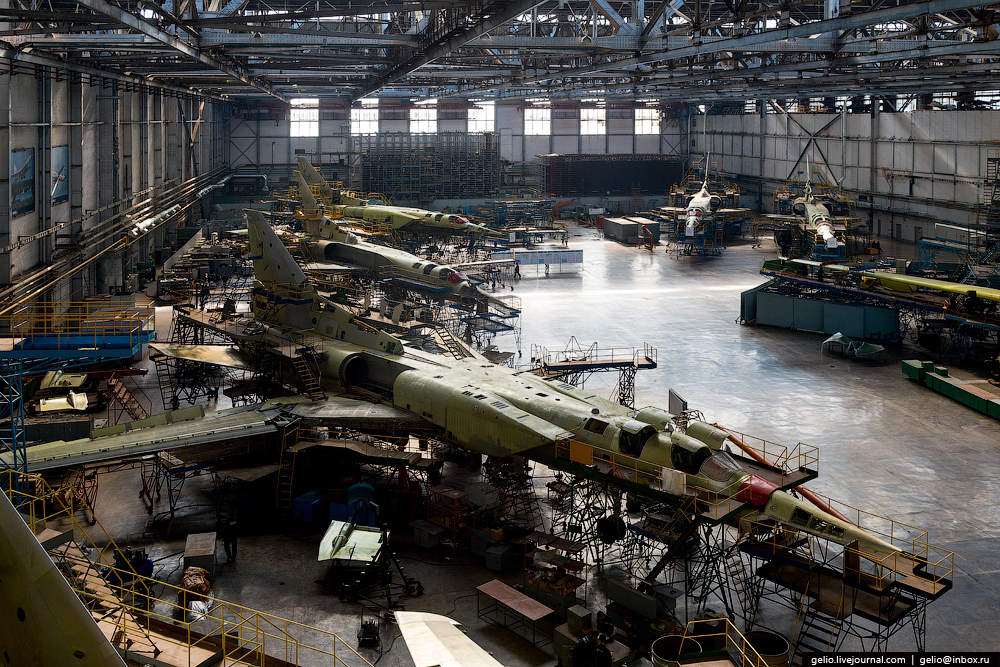 The production of aircraft Tu-160, Tu-22M3 and Tu-214_19