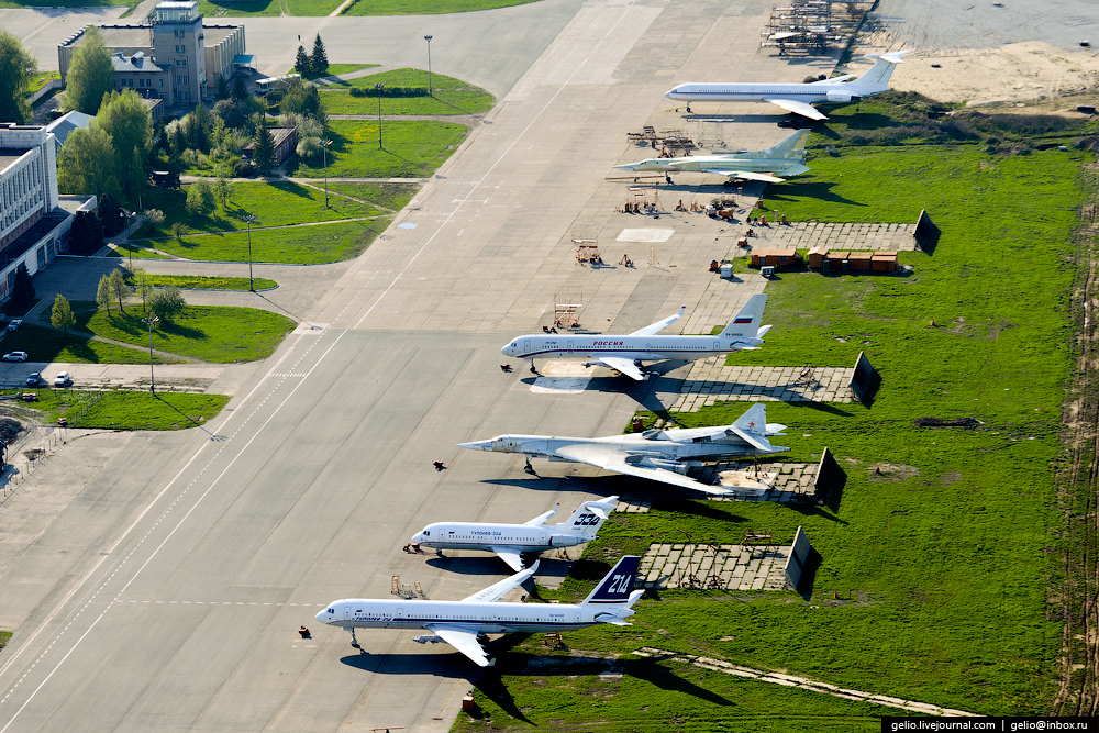 The production of aircraft Tu-160, Tu-22M3 and Tu-214_25