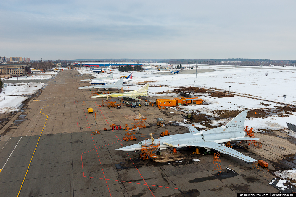 The production of aircraft Tu-160, Tu-22M3 and Tu-214_26