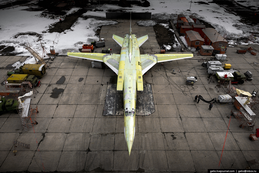 The production of aircraft Tu-160, Tu-22M3 and Tu-214_30