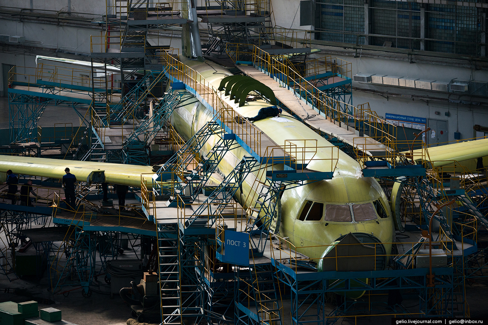 The production of aircraft Tu-160, Tu-22M3 and Tu-214_33