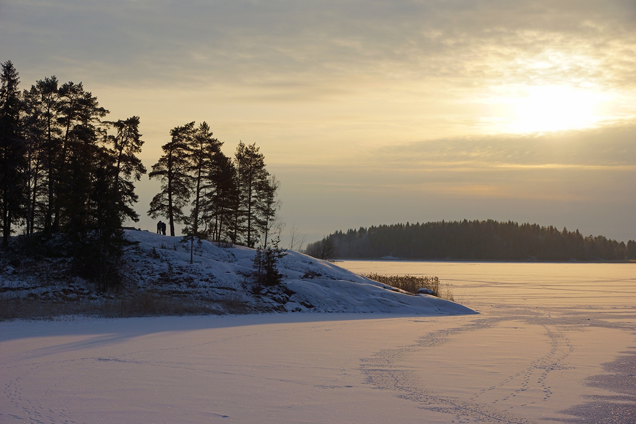 The rapids of the river Janisjoki. South Karelia 02