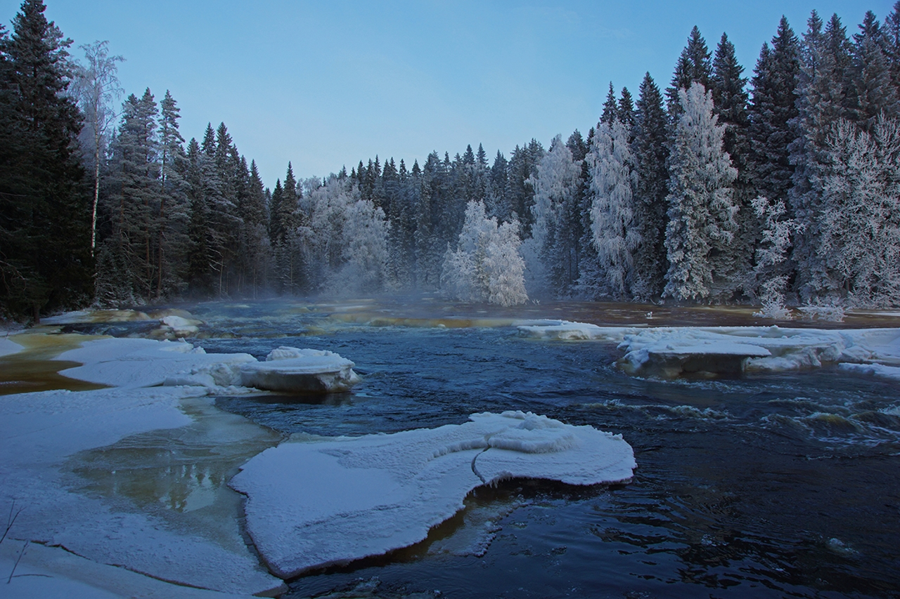 The rapids of the river Janisjoki. South Karelia 04