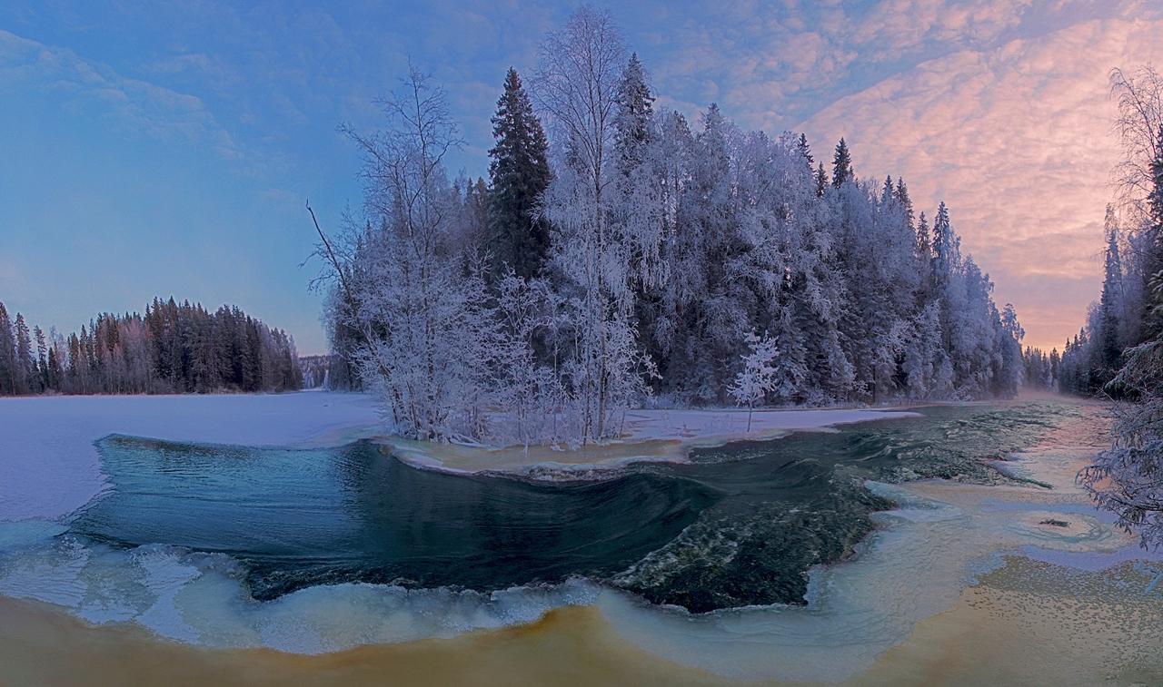The rapids of the river Janisjoki. South Karelia 06