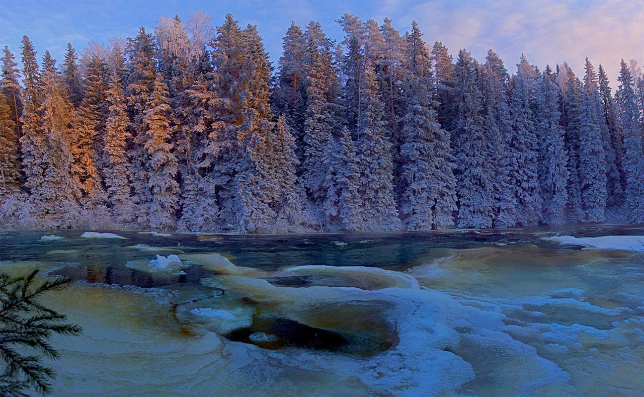 The rapids of the river Janisjoki. South Karelia 09
