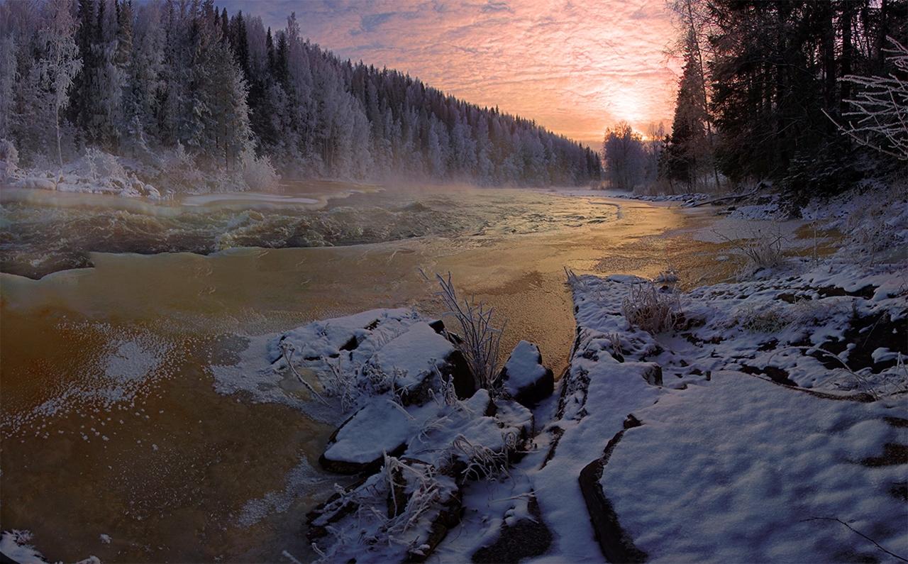 The rapids of the river Janisjoki. South Karelia 10