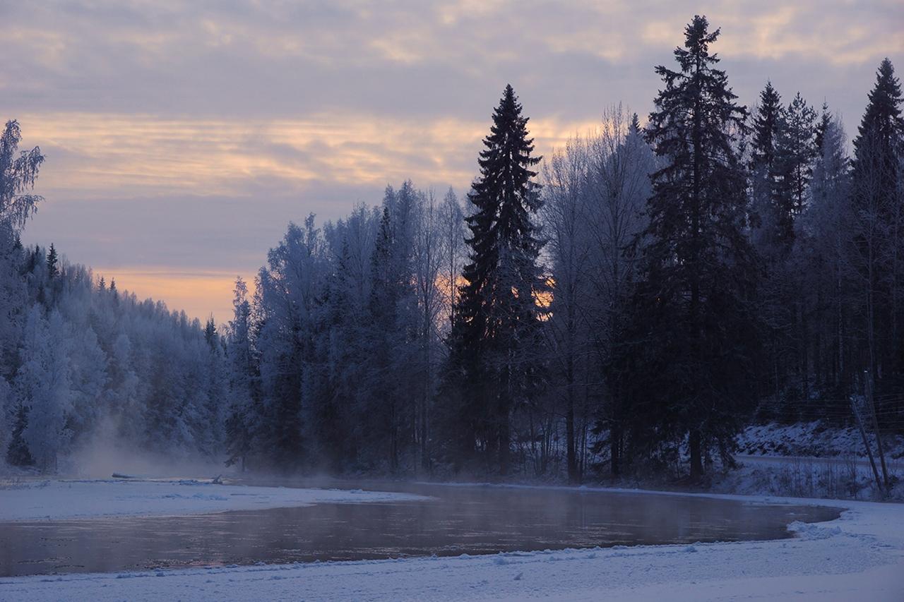 The rapids of the river Janisjoki. South Karelia 12
