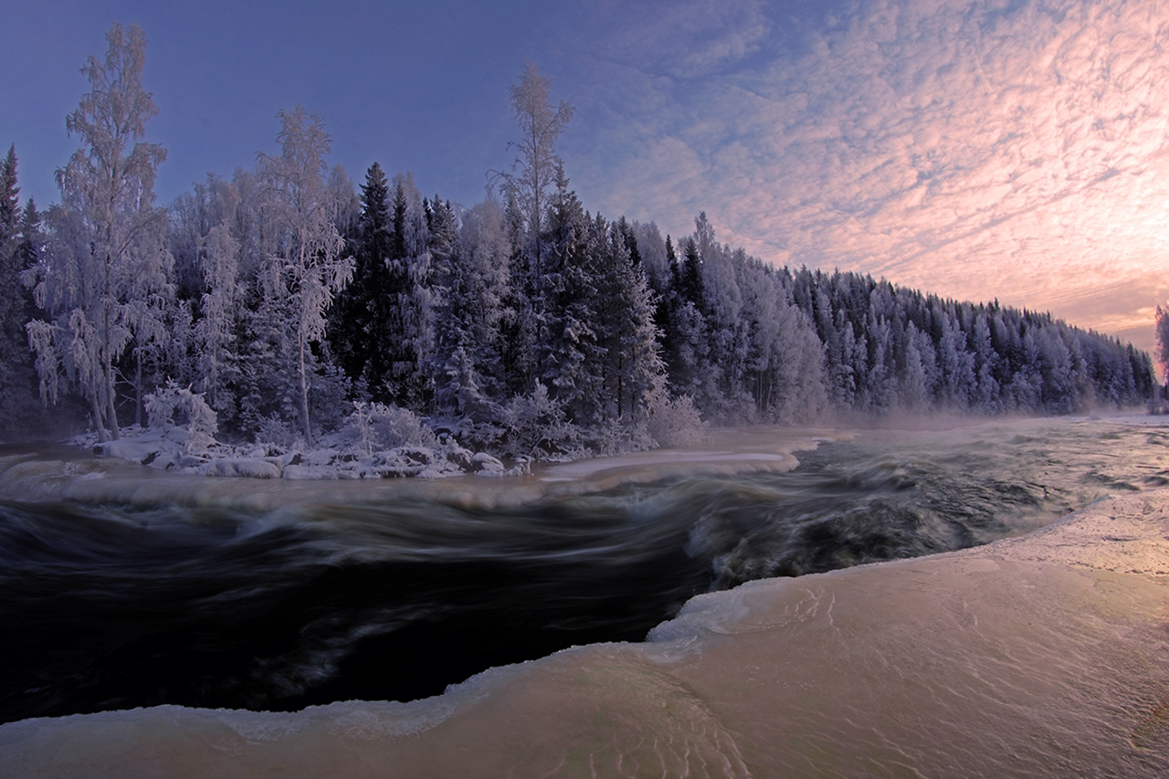 The rapids of the river Janisjoki. South Karelia 15