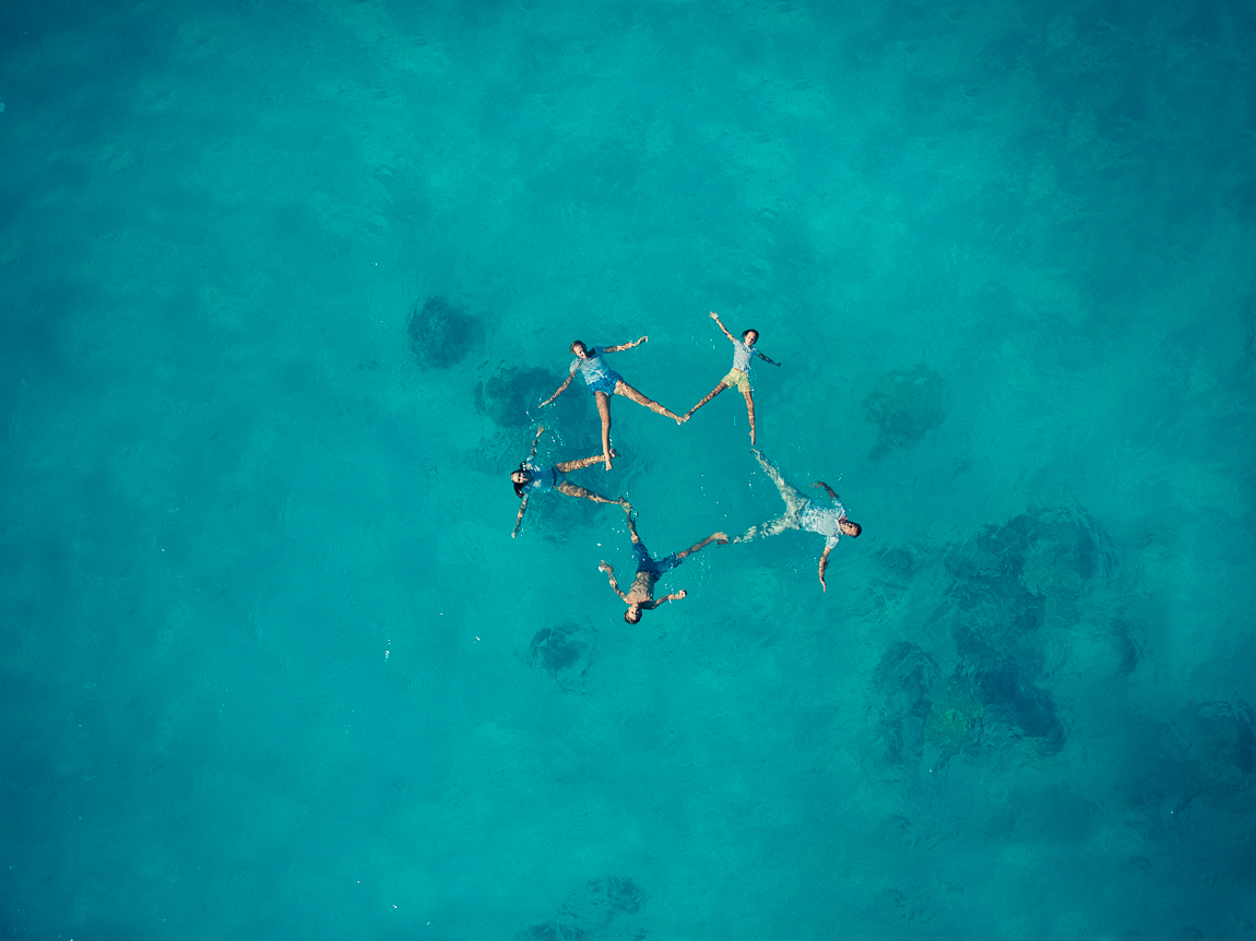 The striking beauty of wedding photos taken with a drone 07
