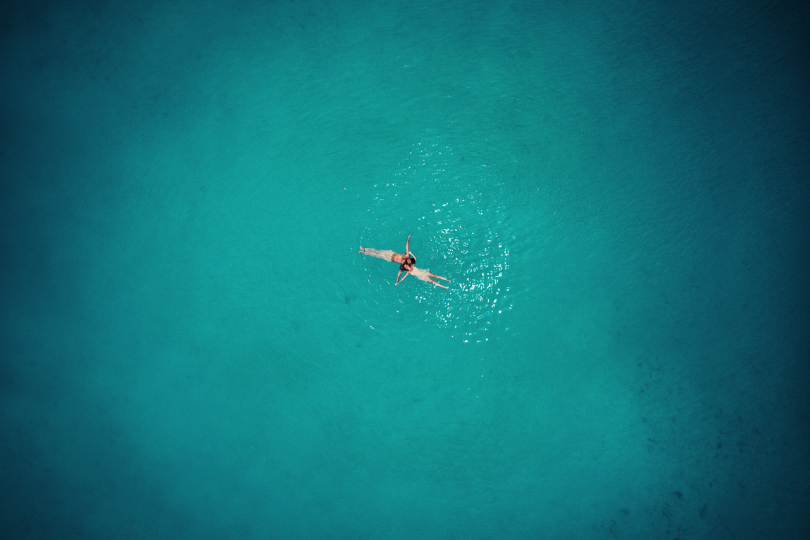 The striking beauty of wedding photos taken with a drone 11