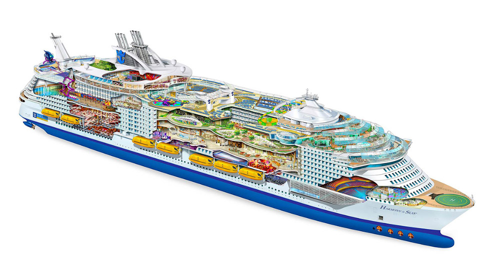 The world's largest cruise ship ready for your first journey 06