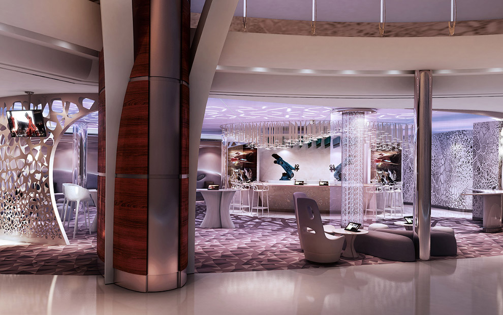 The world's largest cruise ship ready for your first journey 19