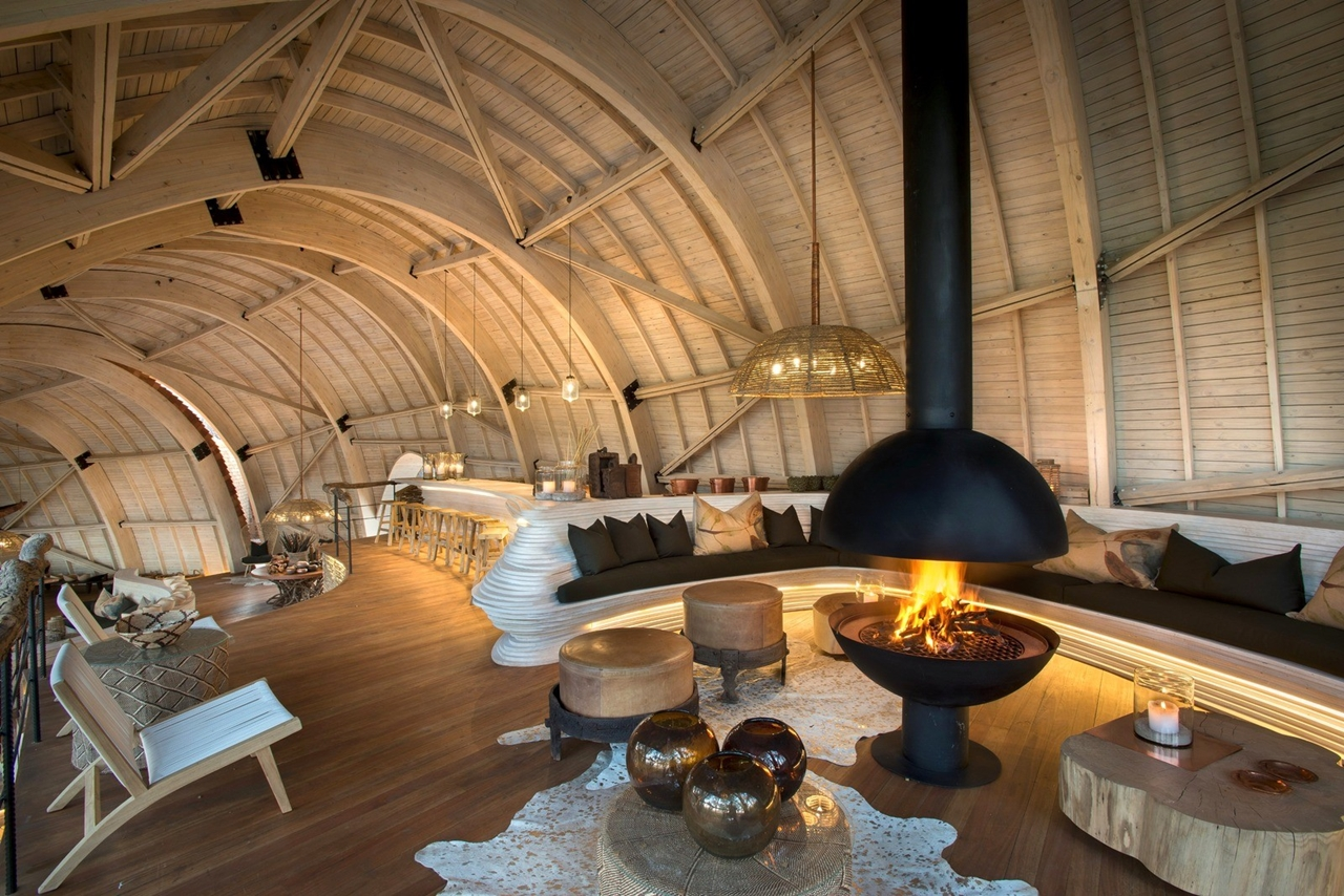 This hotel in Botswana -  unity with nature 03