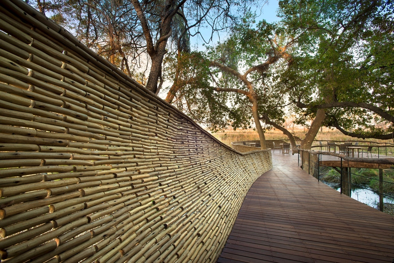 This hotel in Botswana -  unity with nature 13