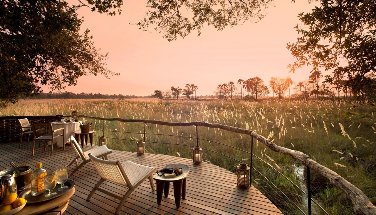 This hotel in Botswana -  unity with nature 14