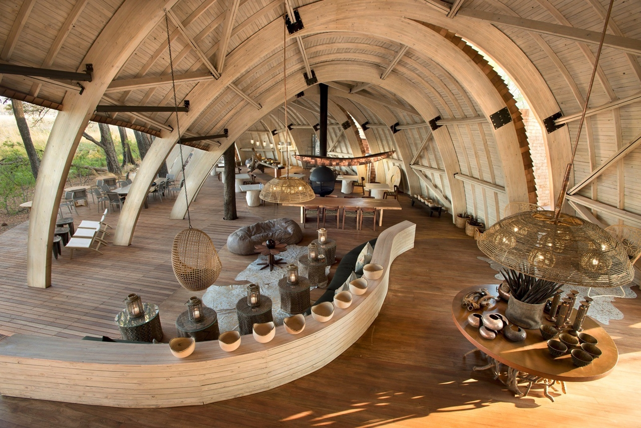 This hotel in Botswana -  unity with nature 17
