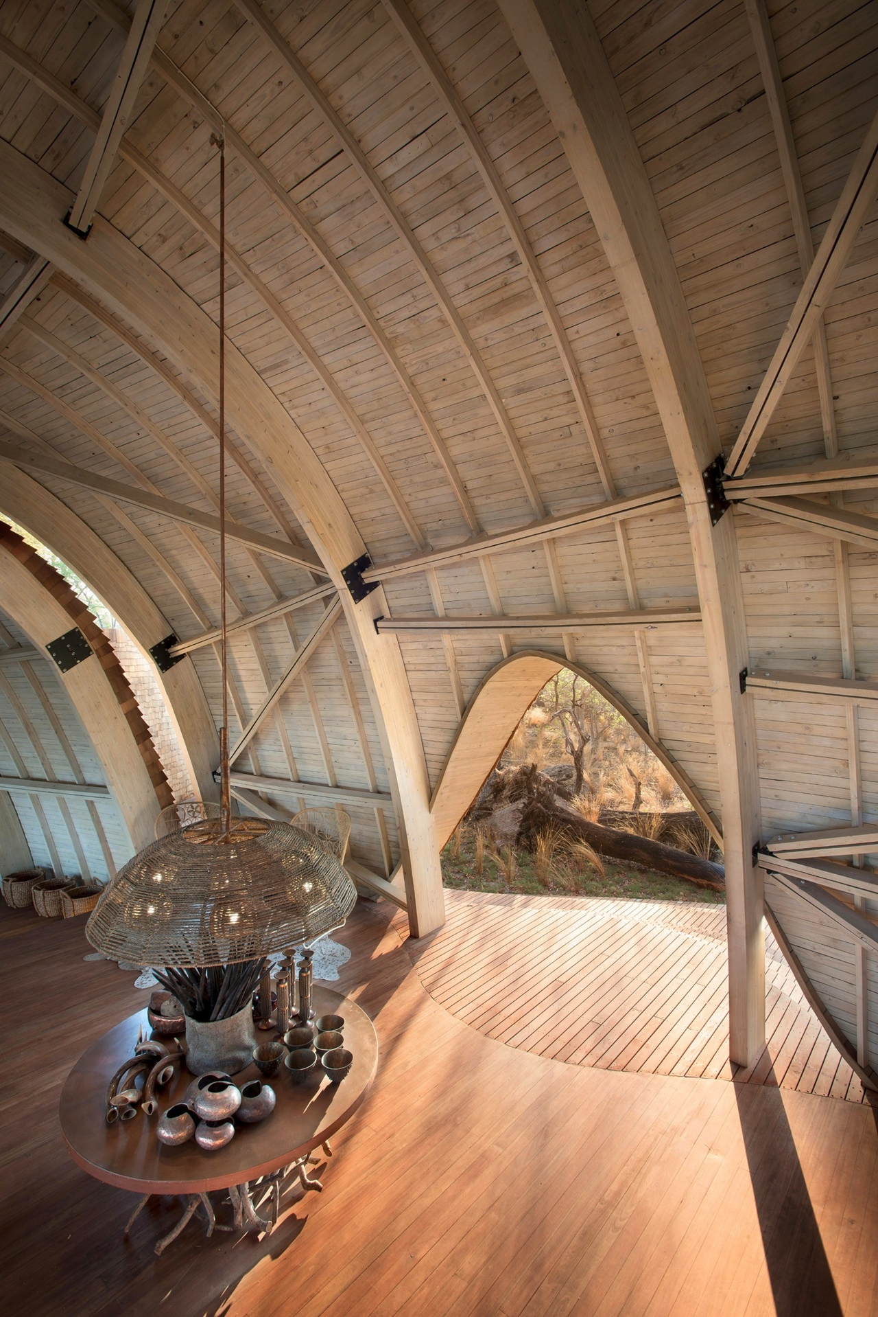 This hotel in Botswana -  unity with nature 18