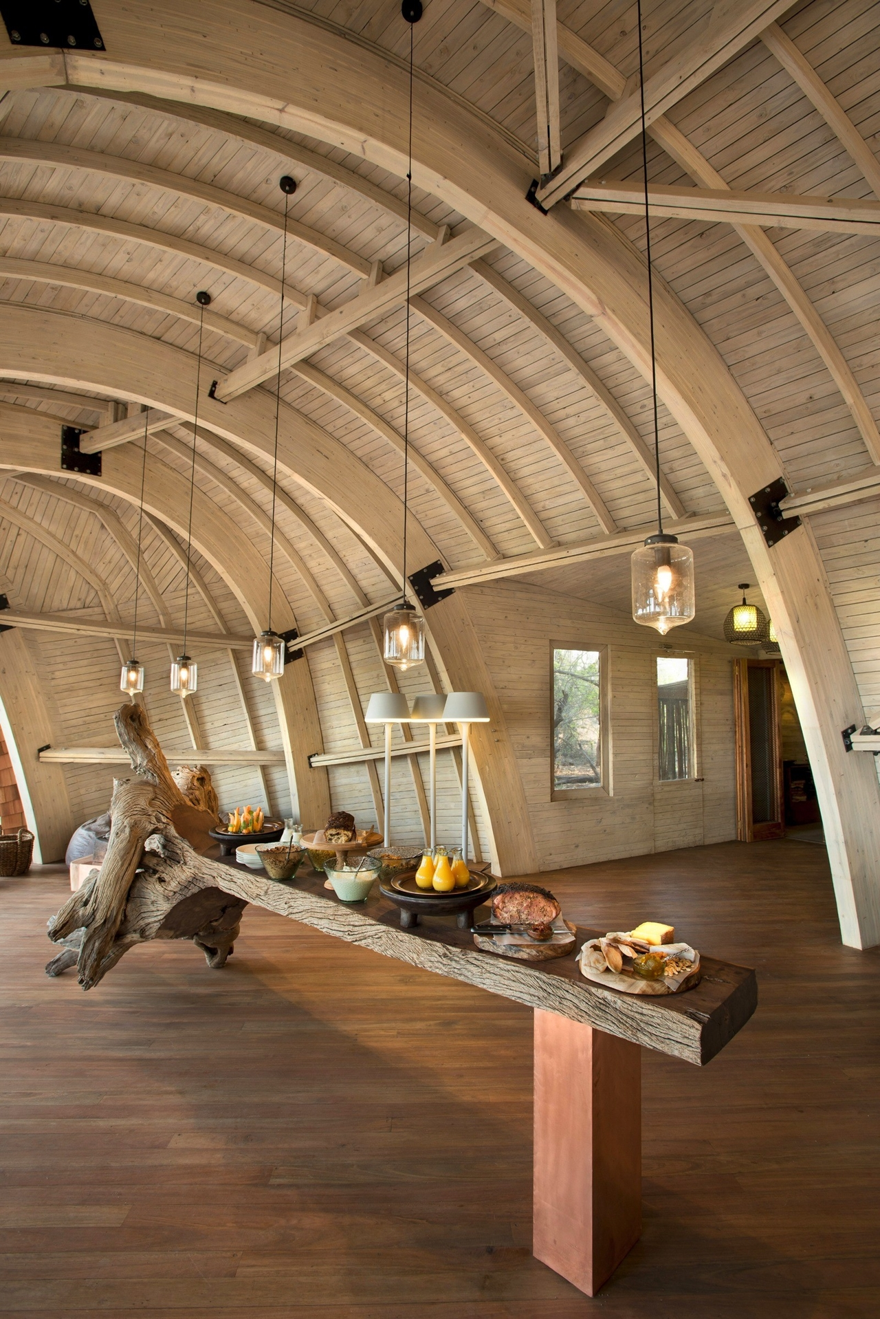 This hotel in Botswana -  unity with nature 19