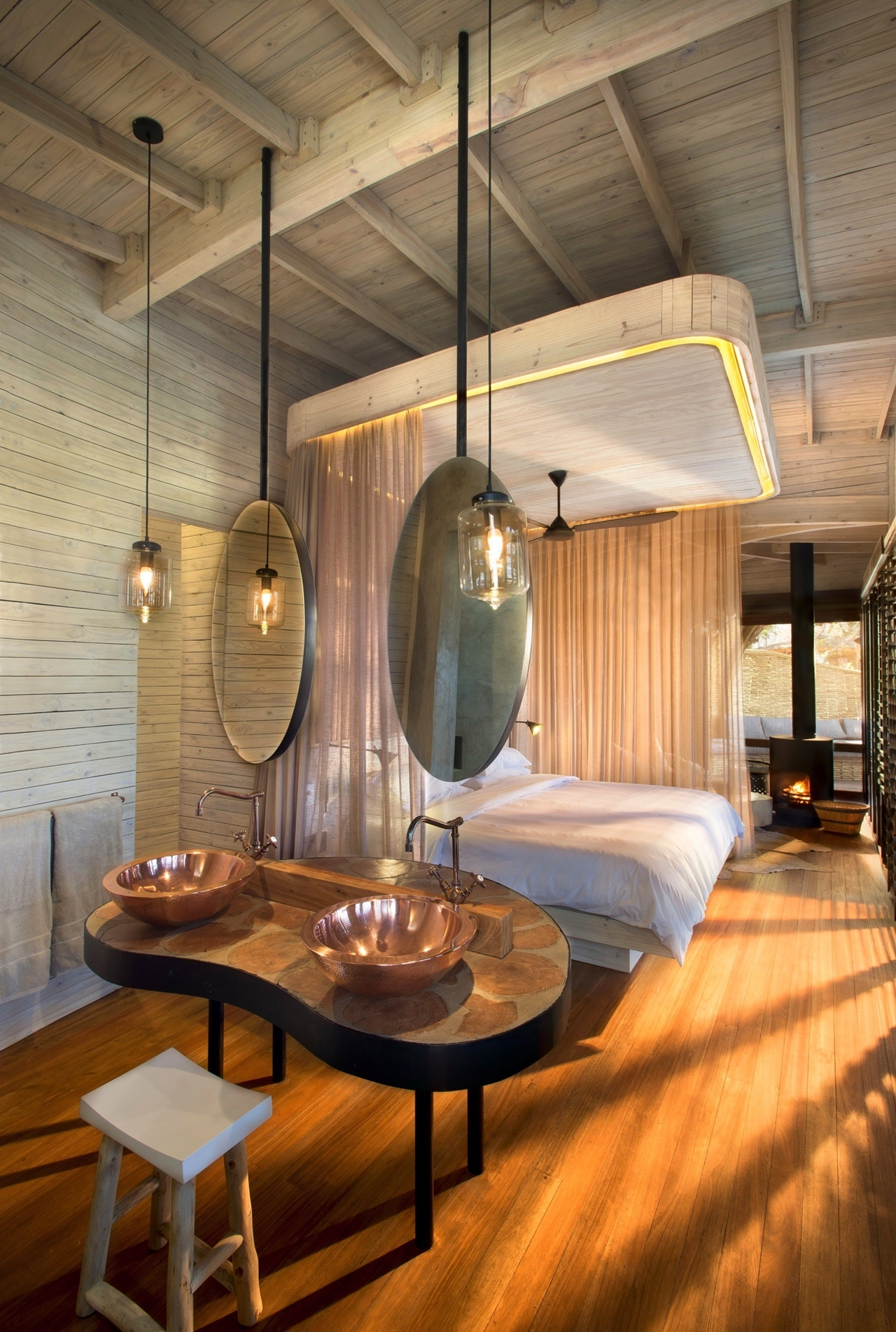 This hotel in Botswana -  unity with nature 22