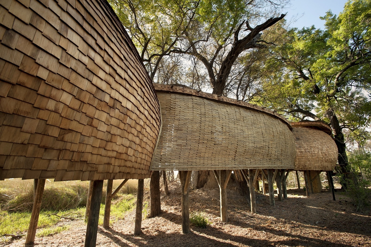 This hotel in Botswana -  unity with nature 26