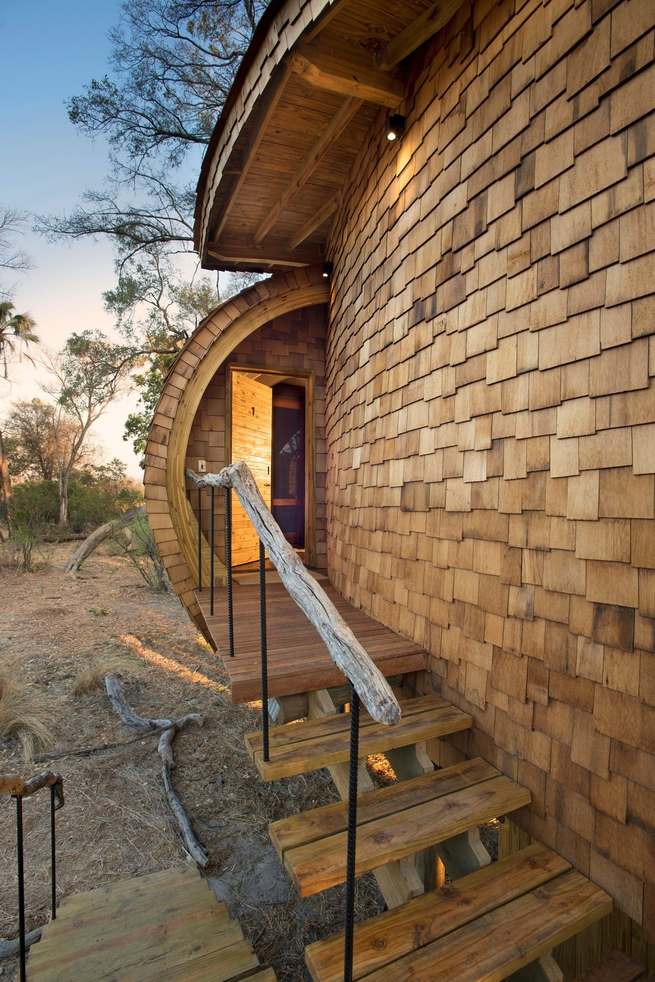 This hotel in Botswana -  unity with nature 28