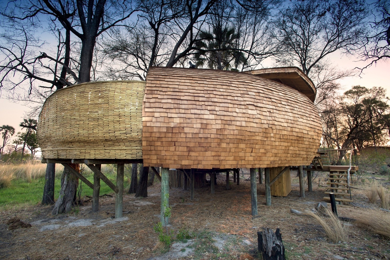 This hotel in Botswana -  unity with nature 29