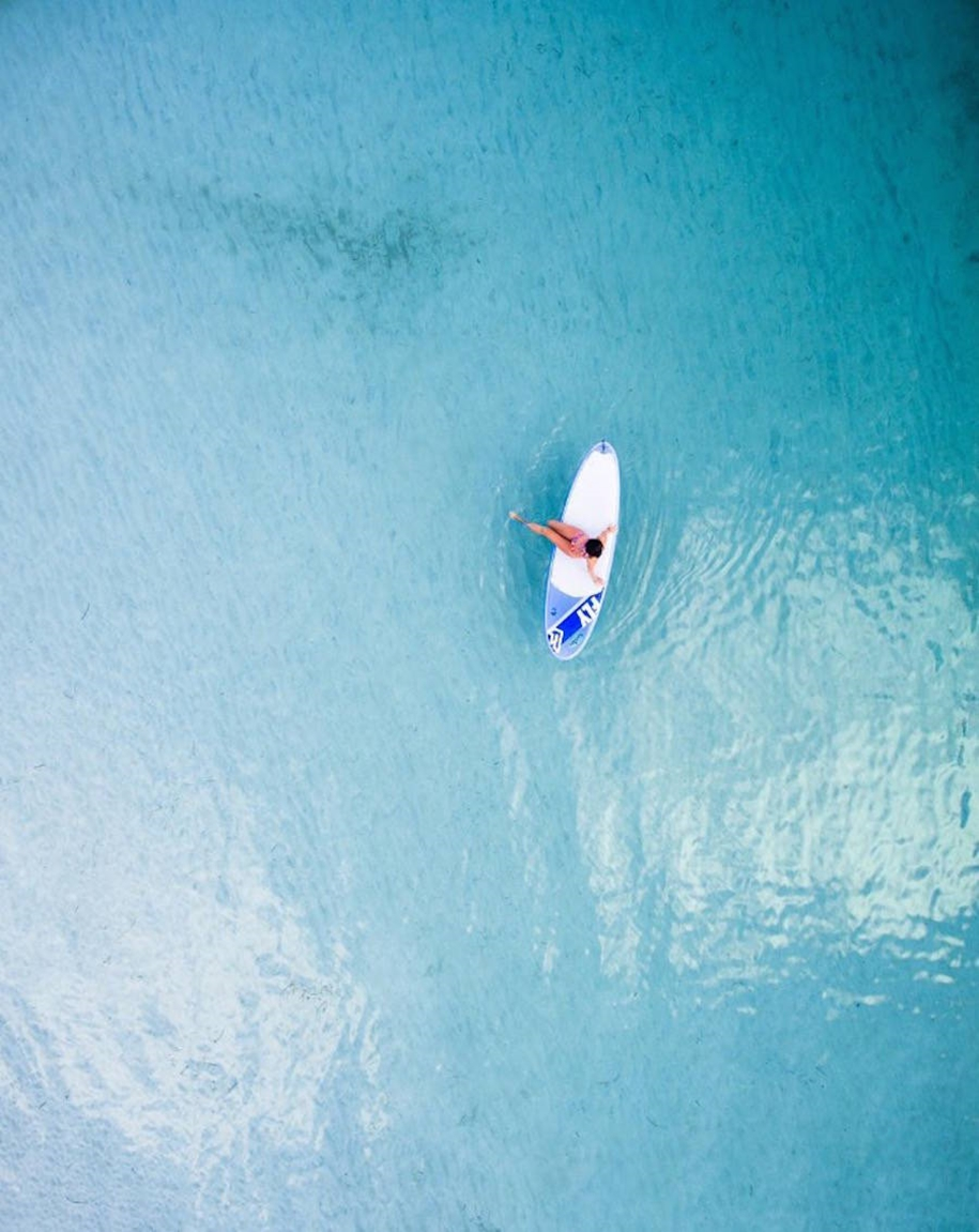 Turquoise water and abstract patterns of Australia from the height of bird flight 16