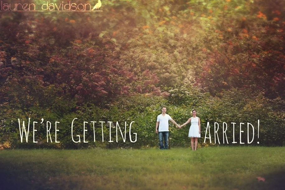 20 creative ways to announce engagement 10