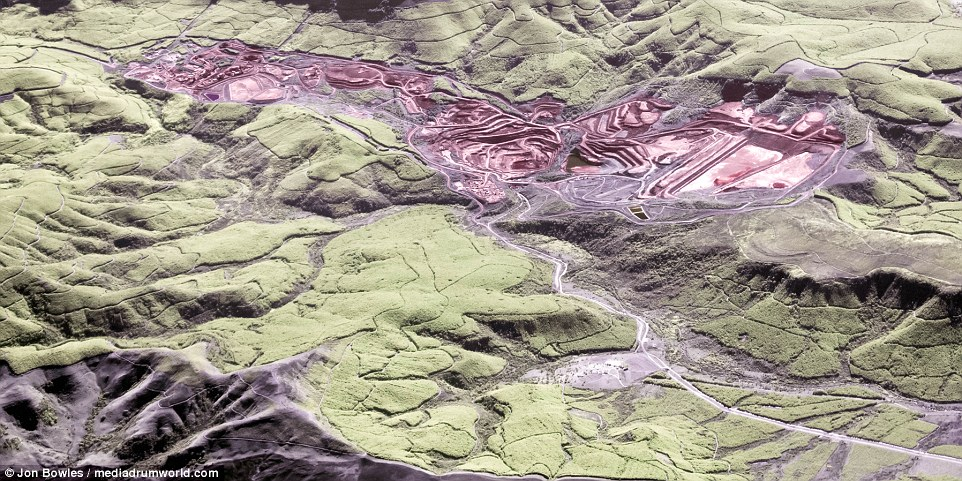 Aerial photos of our planet in the infrared range 05
