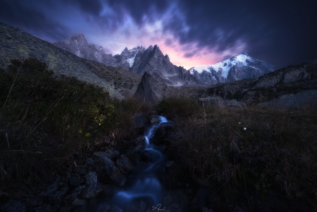 Beautiful landscapes shrouded in darkness from Simon Ropes 16