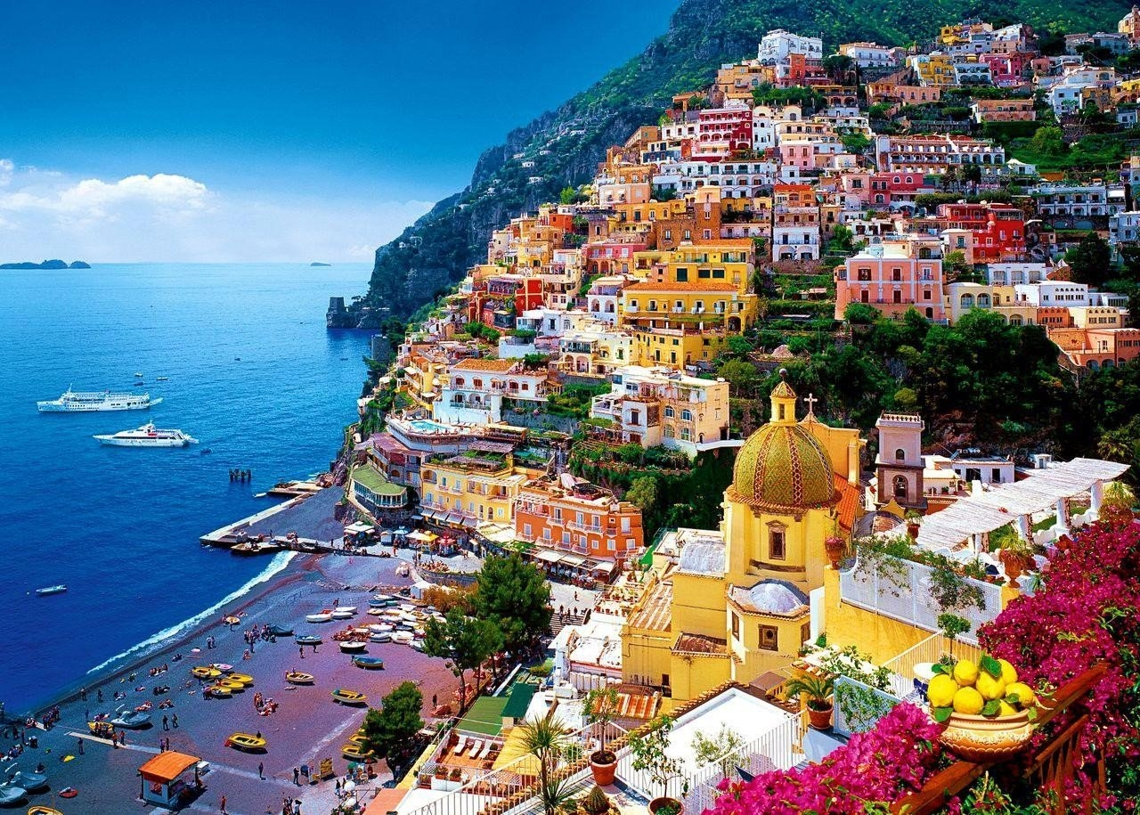 Colorful Amalfi coast 01
