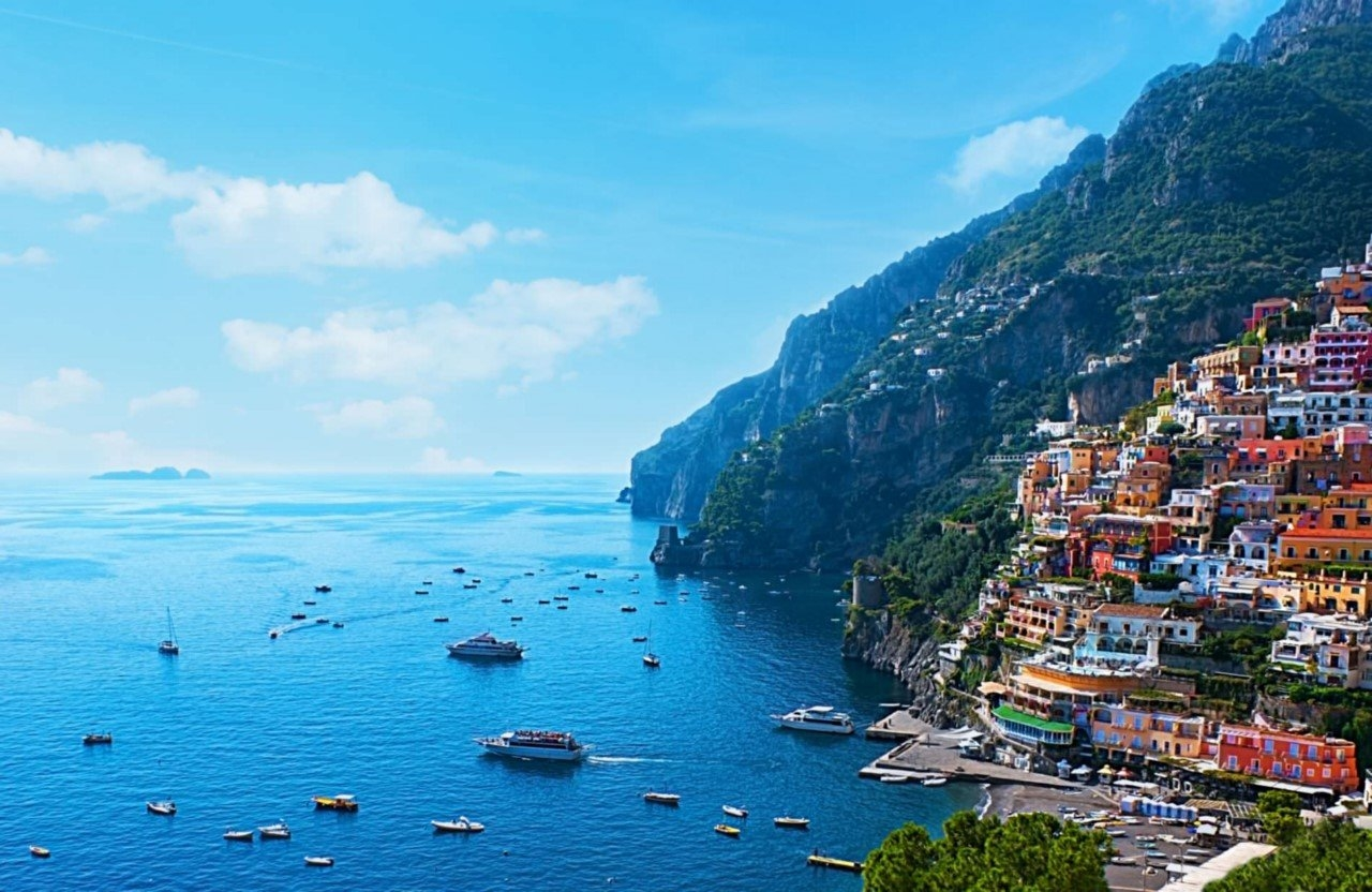 Colorful Amalfi coast 03