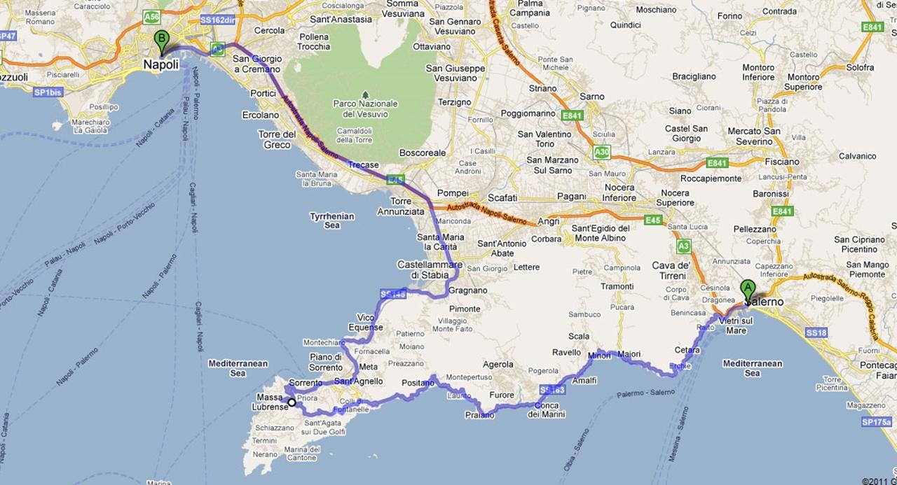 Colorful Amalfi coast 04