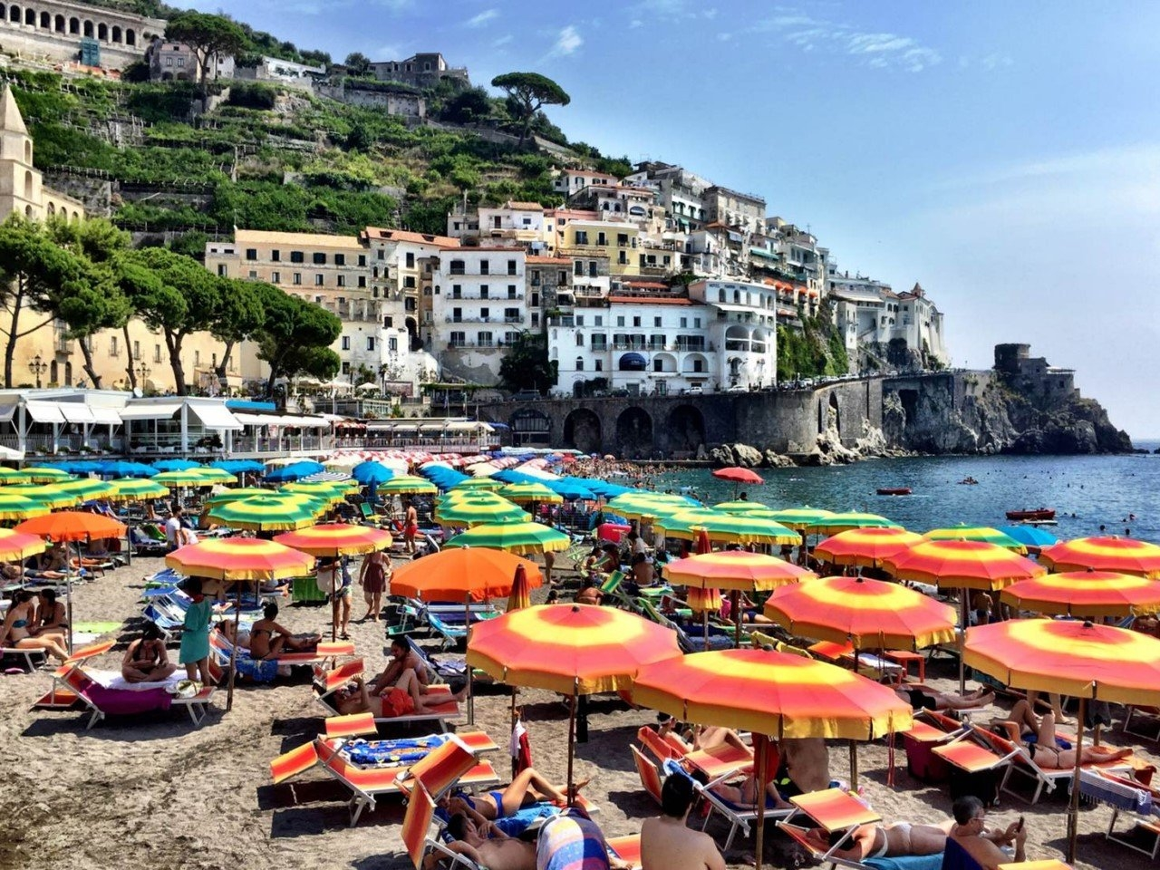 Colorful Amalfi coast 10