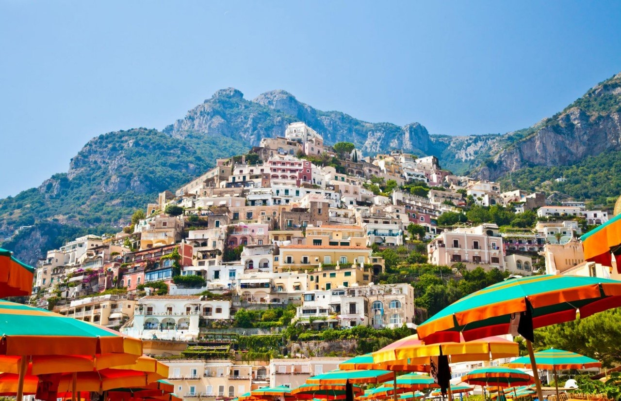 Colorful Amalfi coast 13