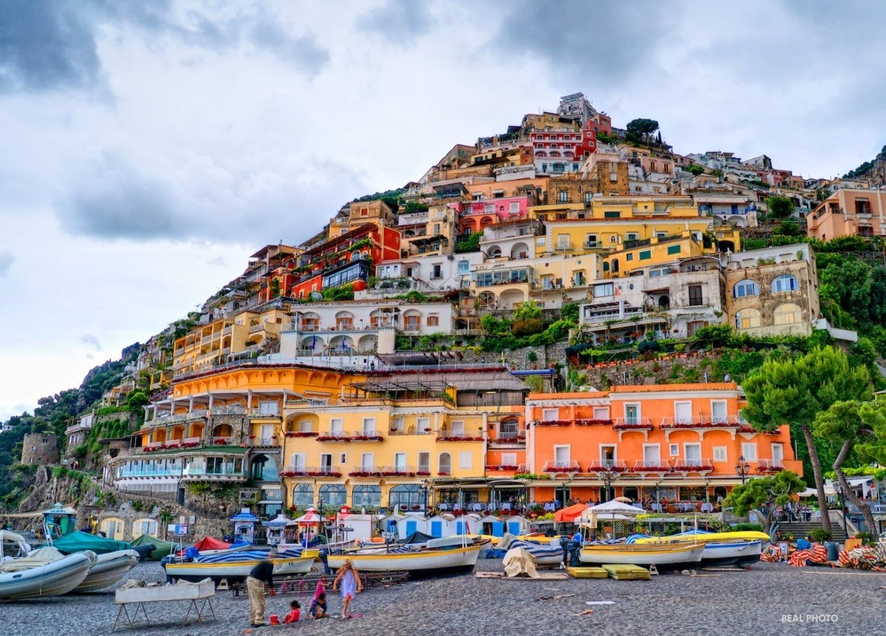 Colorful Amalfi coast 19