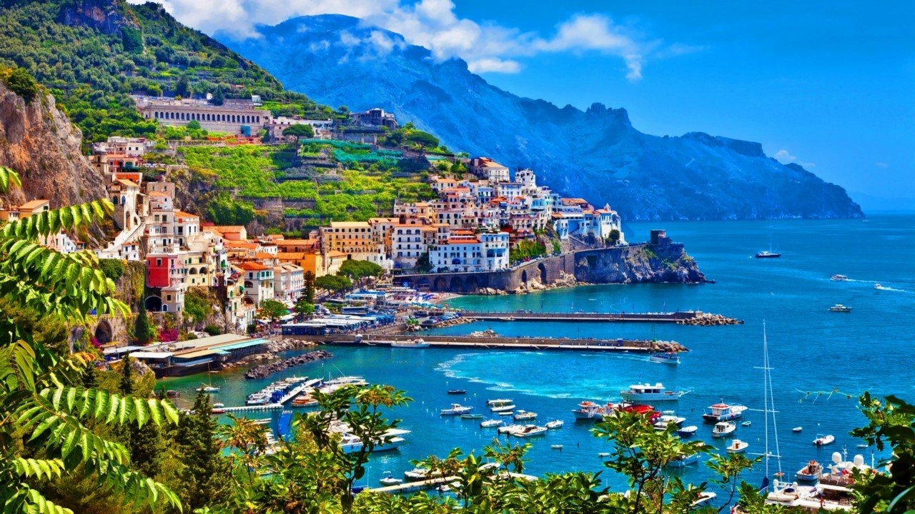 Colorful Amalfi coast 25