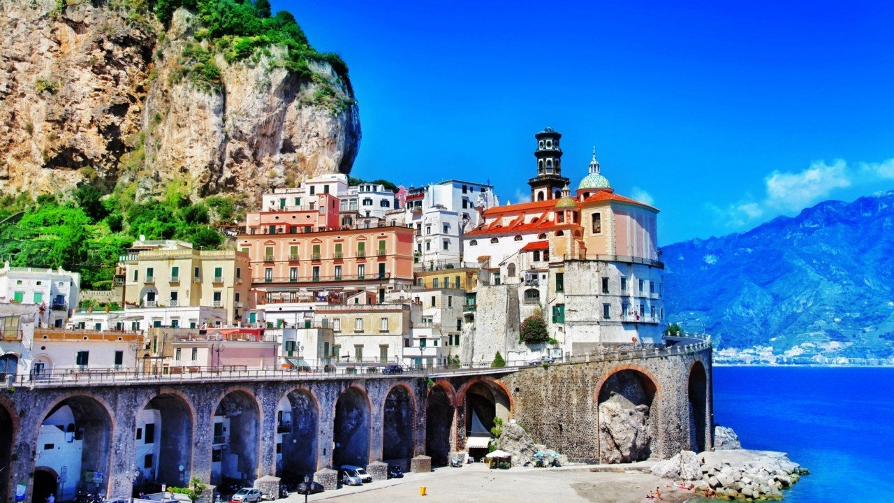 Colorful Amalfi coast 28