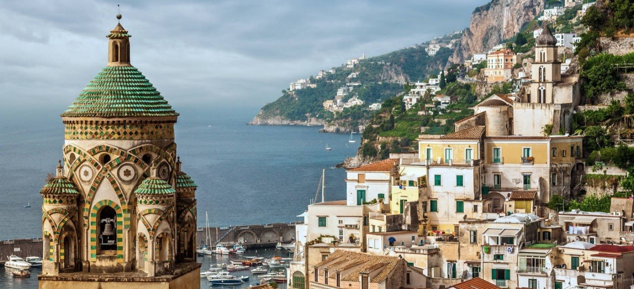 Colorful Amalfi coast 34