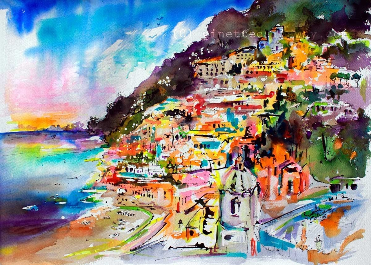 Colorful Amalfi coast 38