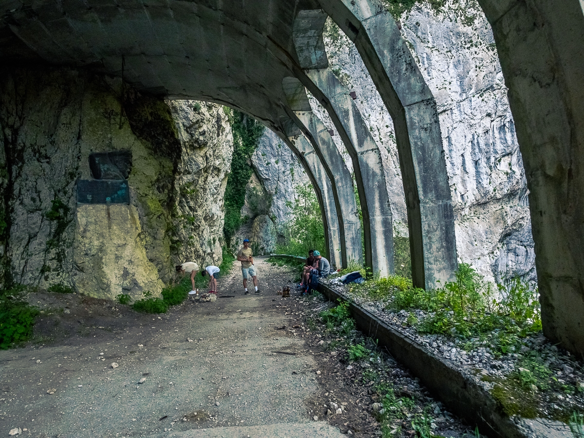 Deadly and terribly beautiful abandoned road to Sochi 18