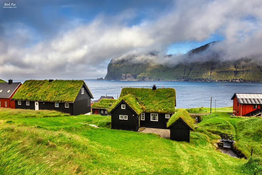 Fabulous beauty Scandinavian homes with green roofs 09