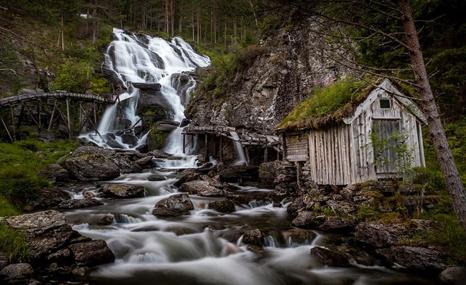 Fabulous beauty Scandinavian homes with green roofs 10